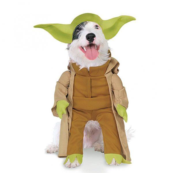 Disfraz de Yoda para perro