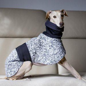 Abrigo elegante para galgo