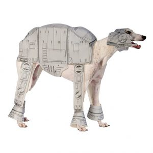 Disfraz de AT-AT Imperial Walker para perro