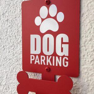 Señal de parking para perros