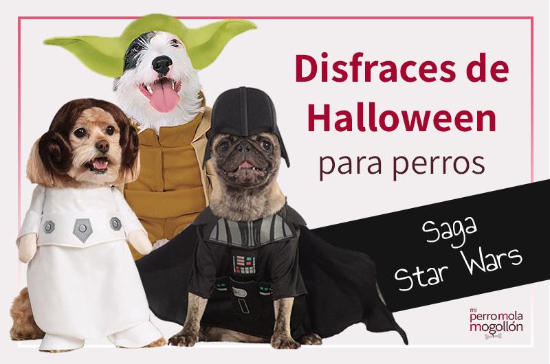 Disfraces de la saga Star Wars para perros