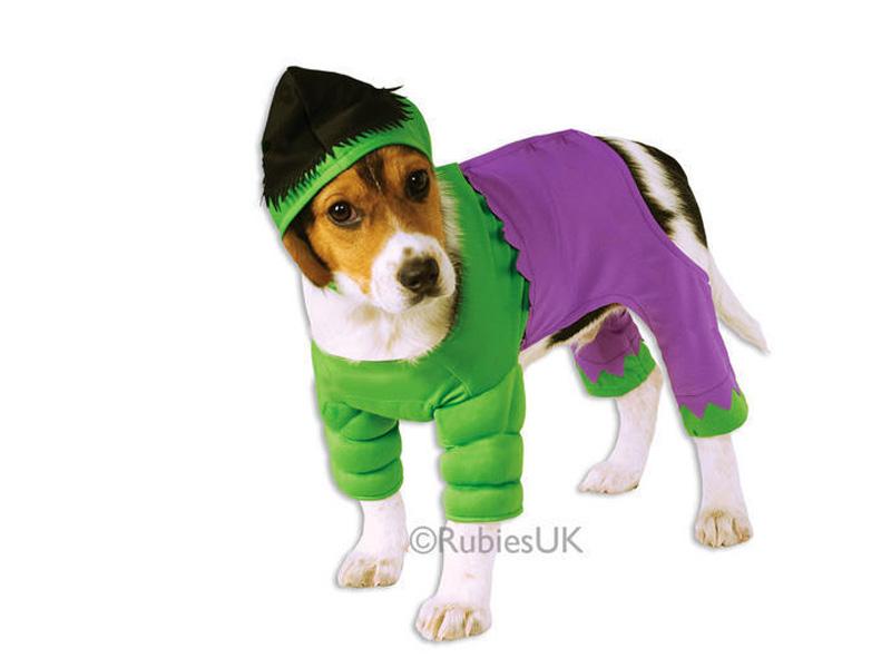 Disfraz para perro de Hulk