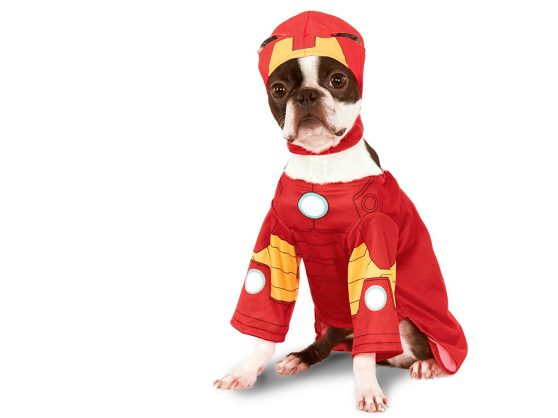 Disfraz para perro de Ironman