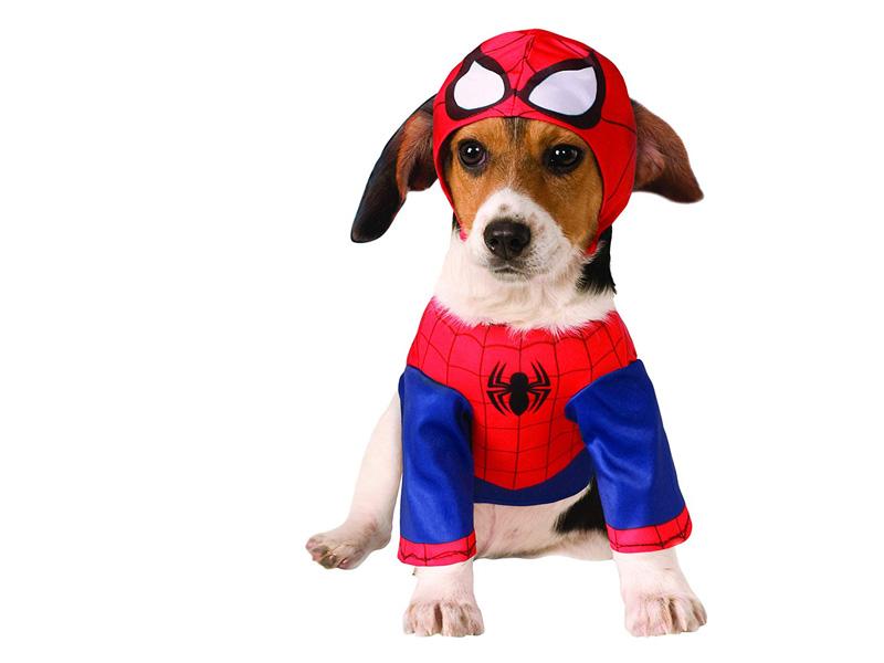 Disfraz para perro de Spiderman