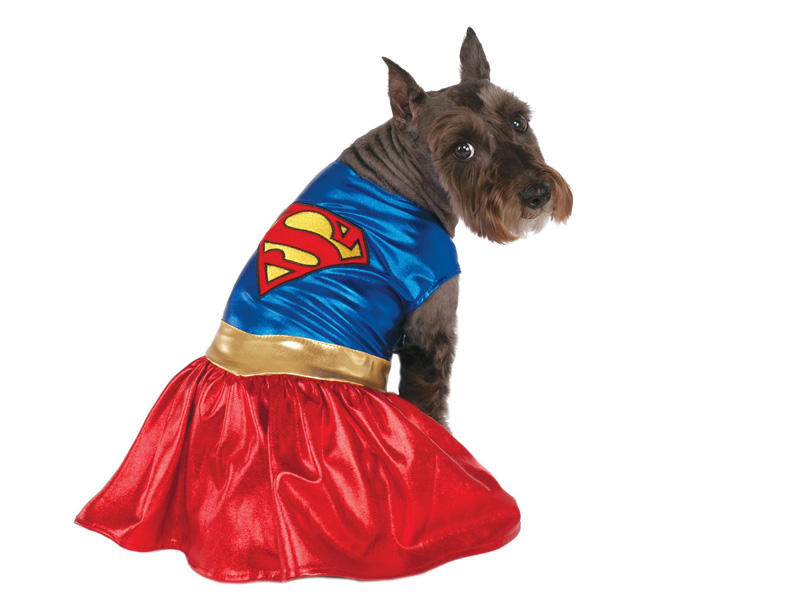 Disfraz para perro de supergirl