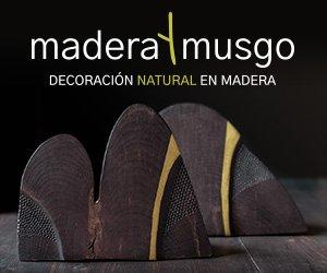 Madera y Musgo. Decoraci贸n natural en madera.